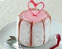 Dessert Original, Charlotte, Vanilla Cake, Candle Holders, Candy, Food, Chefs, Hearts, Bar