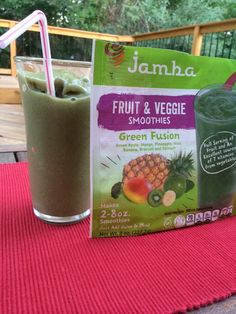 What do you pair with your Jamba At Home Green Fusion Smoothie?