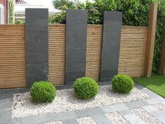 Modern Landscape Design, Modern Garden Design, Garden Landscape Design, Modern Landscaping, Garden Landscaping, Landscape Edging, House Landscape, Landscaping Ideas, Modern Design
