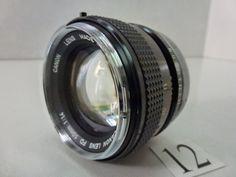 LS352GC キャノン CANON FD 50mm F1.4 ジャンク_キャノン CANON FD 50mm F1.4