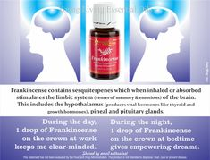 Here is why Frankincense is going to work for Seizures.  frankincense use