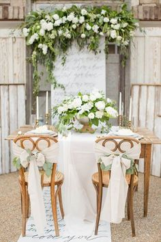 ❧ Tablescapes ❧