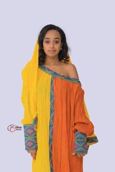 Ethiopian Traditional Dress, Traditional Dresses, Short Green Dress, Yellow Dress, Habesha Kemis, Ethiopian Dress, Cute Dresses, Summer Dresses, Fashion Dresses