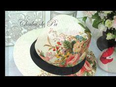 ΣΟΥΛΟΥΠΩΣΕ ΤΟ: DECOUPAGE σε ΨΑΘΙΝEΣ Τσάντες-Καπέλα και Παπούτσια