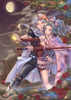Tags: Anime, Dissidia, Final Fantasy VI, Final Fantasy IV, Firion