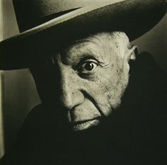 Irving  Penn:   Picasso (B) Cannes, 1957