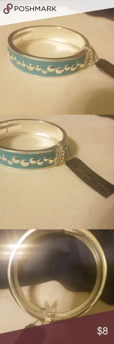 Birch Hill clasp bracelet Here is a cute clasp close bracelet great for every day wear nice silver tone and blue.  I have so many items listed look around and lets do some deals on muliti things and save on shipping!   Thanks kim birch hill Jewelry