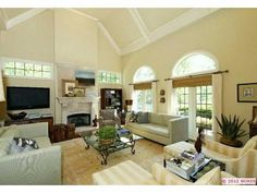 A chic and casual family room. www.cctulsa.com