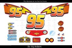 New Replacement Decals Stickers for 90s Little by TheToyRestore
