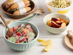 Be a Healthier Summer Party Host : Recipes and Cooking : Food Network - FoodNetwork.com