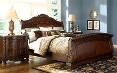 There's just something about sleigh beds...