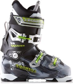 Perfect for exploring the mountain, the Tecnica Cochise 90 ski boots feature a specialized hiking mode.