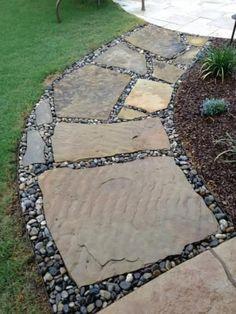 Garden path ideas http://livedan330.com/2014/07/17/garden-path-ideas/