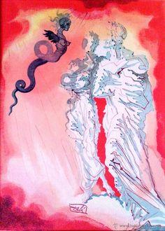 """Pintura del libro """"Dalí Delit Emporda"""" en todocoleccion."""