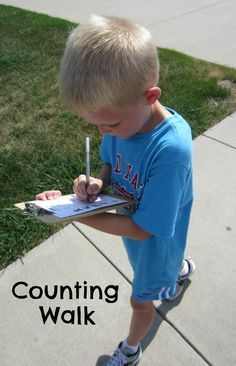 Neighborhood counting walk