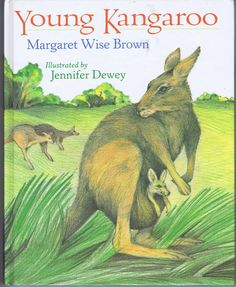 Young Kangaroo Children's Book by Margaret by chemindesmuguets, $12.00