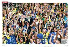 40000 women fans in Fenerbahce stadium