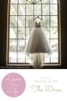 {12 tips about finding your wedding dress}