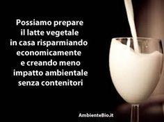 Se pensiamo al costo del latte vegetariano, l'idea di farlo da soli con una minima spesa è davvero allettante oltre al fatto che saremo sicuri che non verranno aggiunte altre sostanze per la conservazione. Un ulteriore vantaggio del latte preparato in casa è dato dal fatto che si conserva in una bottiglia di vetro o comunque …