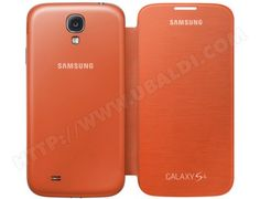 Etui SAMSUNG EF-FI950 orange pour Galaxy S4