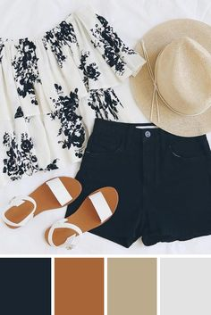 Best Summer Color Combinations by Lulus ★ See more: http://glaminati.com/summer-color-combinations-lulus/