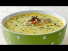 Ciorba de miel pentru sarbatori | JamilaCuisine - YouTube Soup Recipes, Recipies, Romanian Food, Romanian Recipes, Cheeseburger Chowder, I Foods, Celery, Food Videos, Food Inspiration