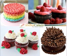 Sweet & Delicious Cakes & Cup Cakes