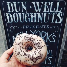 The 30 Most Instagrammed Restaurants In NYC #refinery29  http://www.refinery29.com/coolest-nyc-restaurants-instagram#slide-12  Dun-Well Doughnuts Make sure to take a pic before devouring that delicious dozen.Dun-Well Doughnuts, 222 Montrose Avenue (between Bushwick Avenue and Humboldt Street), Brooklyn; 347-294-0871....