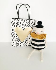 Crochet doll by Melosina