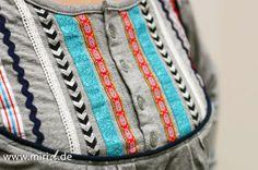 www.miriD.de: Ein Shirt mit Bändern | A ribbon shirt