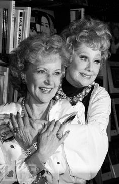 Betty White & Lucille Ball two of my favorite funny ladies
