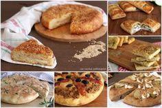 Ricette di focacce e pizze rustiche  Raccolta di ricette