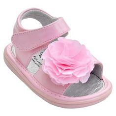 Toddler Girl's Wee Squeak Peony Sandal - Pink