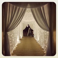Trendy wedding reception backdrop entrance Ideas Trendy wedding reception backdrop entrance Ideas - Sites new Wedding Reception Entrance, Wedding Hall Decorations, Wedding Ceremony Backdrop, Wedding Centerpieces, Outdoor Ceremony, Wedding Backdrops, Wedding Draping, Wedding Mandap, Wedding Arches