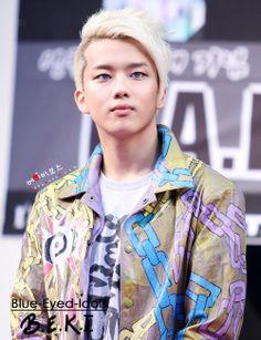 BLUE EYED K-POP IDOLS: #328  Yoo Youngjae - B.A.P