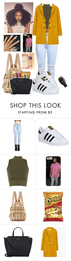 """""""Nicely done;)"""" by anicolelauren ❤ liked on Polyvore featuring adidas, WearAll, MCM, Kate Spade, Zara, women's clothing, women's fashion, women, female and woman"""