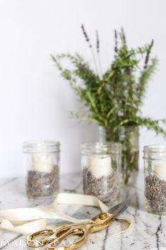 Mason Jars with Lavender - Maison de Pax Lavender Decor, Lavender Buds, Centerpieces, Table Decorations, Rustic Elegance, Fall Harvest, Baby Showers, Make It Simple, Mason Jars