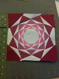 Paper Pieced Quilt Patterns, Quilt Block Patterns, Quilt Blocks, Quilting Projects, Quilting Designs, Paper Peicing Patterns, Millefiori Quilts, Foundation Paper Piecing, English Paper Piecing