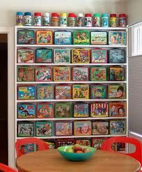 Decorate with Vintage lunch boxes, how cool is this...very fun! - PS Combi can't pack your lunch for you, but we would love to give you a tour of our plant in Canton Ohio if your in the market for packaging equipment. We will even provide lunch!
