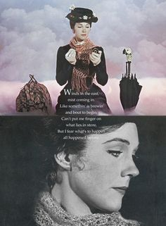 Mary Poppins - My number one, absolute FAVOURITE movie of all time. I love Mary Poppins.