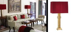 Mary McDonald Lamps---order from Robert Abbey. Super chic, classic, and regal!
