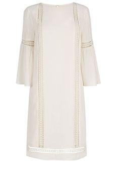 Casual day wear: Lace detail gypsy dress