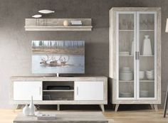 Buffet nordico viking material madera de roble eur for Viking muebles