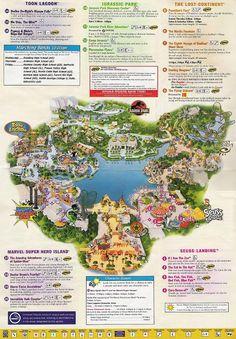 Universal Studios Orlando map of area Universal Studios Guide Map. Universal Studios Florida, Universal Studios Orlando Map, Orlando Studios, Universal Parks, Orlando Travel, Orlando Vacation, Orlando Resorts, Florida Vacation, Florida Travel
