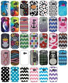 For Samsung Galaxy Discover S730G Centura S738C Design Hard Cover Phone Case PANDA