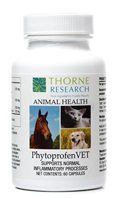Thorne Research Veterinary  PhytoprofenVET  Supports Normal Inflammatory Response  60 Capsules -- Be sure to check out this awesome product.