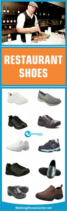 Restaurant Shoes, Best Restaurant shoes, best shoes for bartenders, Best Bartending Shoes, Best waitress shoes, best shoes for waitressing, slip resistant shoes for men, best shoes for waiters, Best shoes for chef, Best Standing all day. Read more: https://walkingshoescenter.net/best-bartending-shoes/