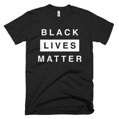 **Note on shipping times Dec 25 - Jan 8** If your size is sold out, enter your email address here to be notified when we get a new batch from the screen printer on January 9. Unisex Black Lives Matter
