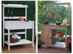 Trucos para hacer tu mesa de jardinería