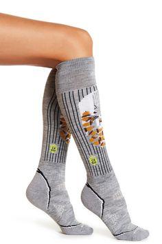 Charley Harper Squirrel Ski Socks